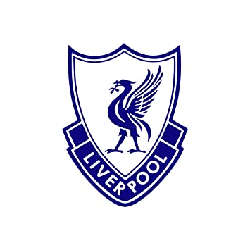 FC Liverpool (NAVY BLUE) (set of 2) - silhouette stencil artwork by