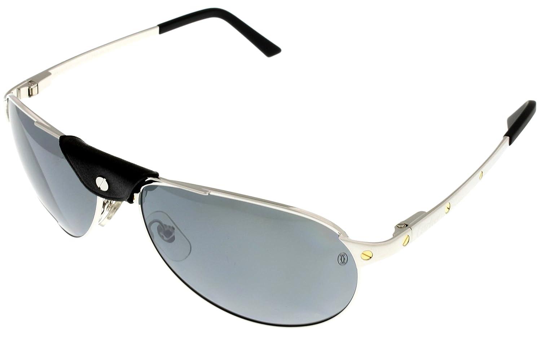 cartier sunglasses gpqz  Amazoncom: Cartier Sunglasses Edition Santos-Dumont Unisex Polarized  T8200892 Aviator: Clothing