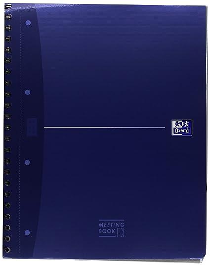 Oxford Office 100102031 libro Europea Lote 5 Cahiers Oficina de Unión Integrale 180 páginas A4 Azul
