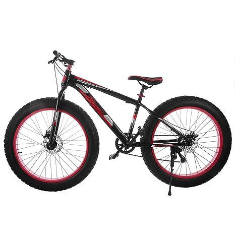 Chaneau Fat Bike 26 Pulgadas montaña de neumáticos Large con 7 ...