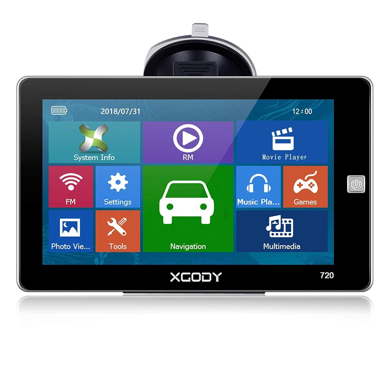 Navigation GPS pour Auto Xgody 7 Pouces écran Tactile HD Camion SAT NAV GPS Système POI recherche gratuit à vie Mise à Jour Shenzhen Xin Sheng Shang Technology Co. Ltd