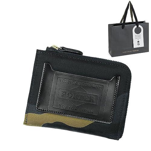 4227b2a0d9e4 ポーター (PORTER) 正規品 L字型ファスナータイプ マルチ ウォレット ショップバッグ付き
