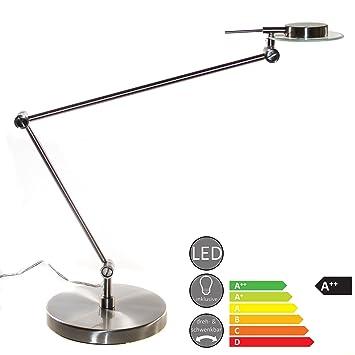 2x LED Tisch Beleuchtung Kristall Flexo Wohn Ess Zimmer Vogel Design Lampen