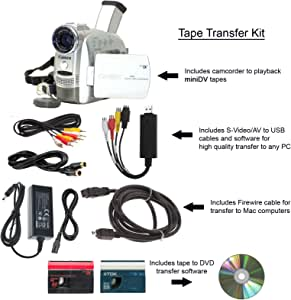 Amazon.com : Canon Camcorder for miniDV Tape Transfer to
