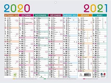 Exacompta, multicolor calendario 29,5 x 22 cm septiembre 2016 A diciembre 2017 gris: Amazon.es: Oficina y papelería