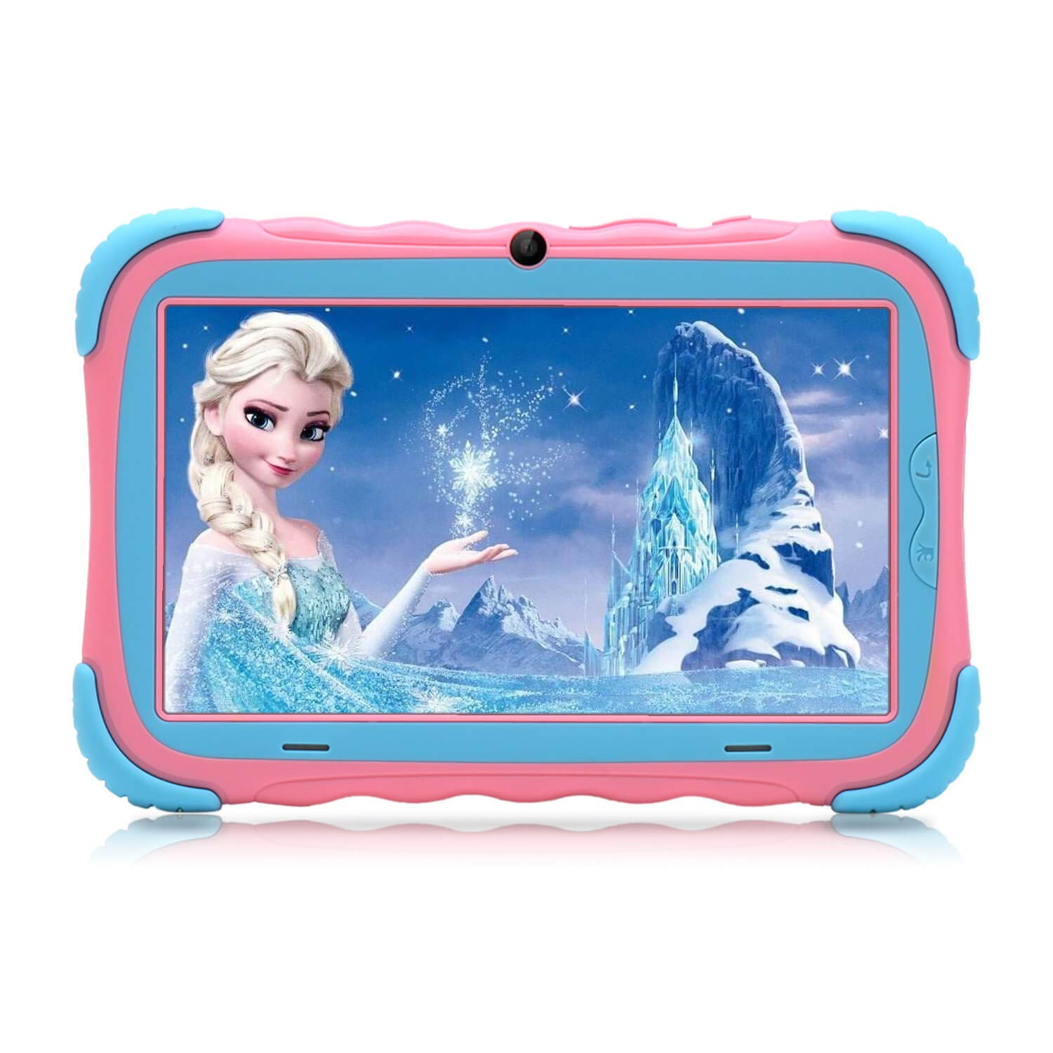 Kids Tablet - 7 inch Kids Edition Tablet with IPS Safety Eye Protection Screen, Android 7.1 WiFi, Camera, Games, Google Play Store, Bluetooth, and 1GB/16GB Storage iRULU Y57 (Pink)