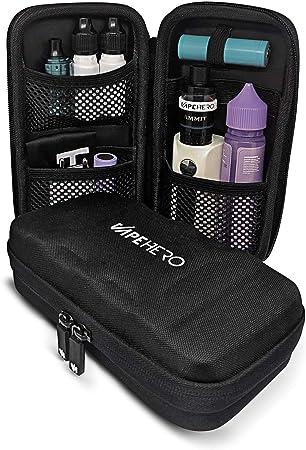 VapeHero Estuche XL para Cigarrillo electrónico | Estuche para vaporizador para máx. 80ml de líquido y Accesorios | Apto para Grandes Mods | Resistente a Golpes: Amazon.es: Hogar