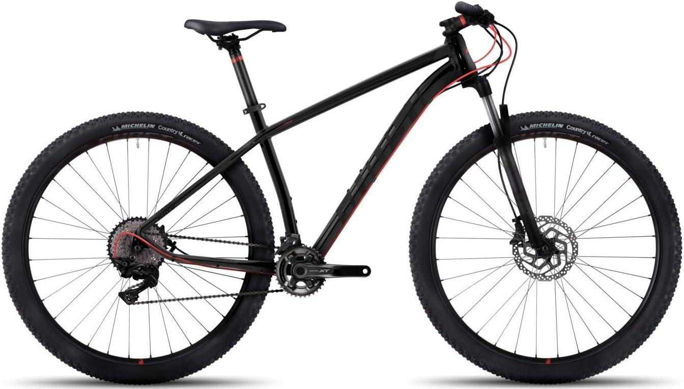 Ghost Kato 9 AL 29R Twentyniner Mountain Bike 2017 - Bicicleta de montaña, color negro/rojo, talla M/46 cm: Amazon.es: Deportes y aire libre