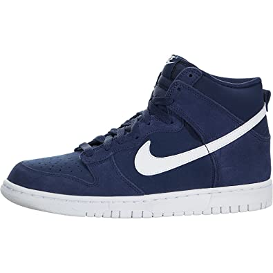 newest c6316 7d7f3 Nike Dunk High (GS) Big Kid - Binary Blue / White