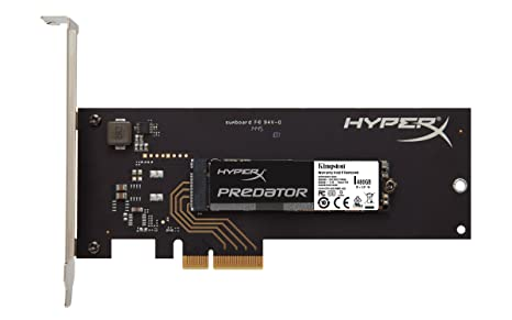 Kingston Digital HyperX Predator 480 GB PCIe Gen2 x 4 Solid State Drive 8-Inch SHPM2280P2H/480G Internal Solid State Drives at amazon