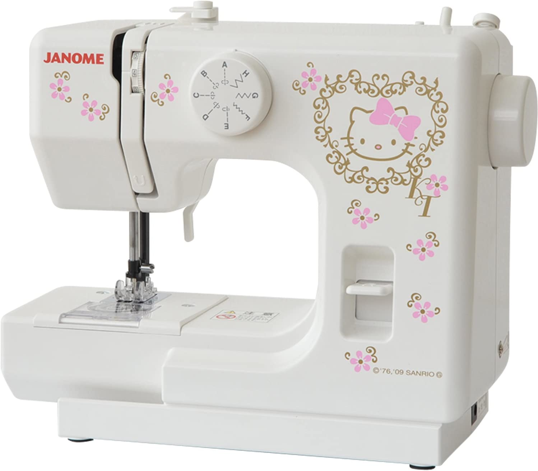 Janome Hello Kitty Máquina de coser eléctrica máquina de coser kt-35