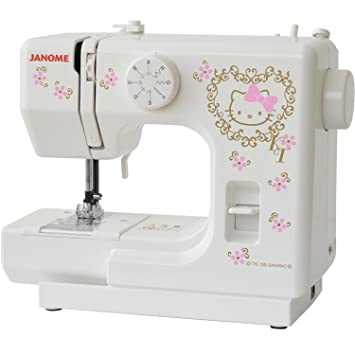 Janome Hello Kitty Máquina de coser eléctrica máquina de coser kt-35: Amazon.es: Hogar