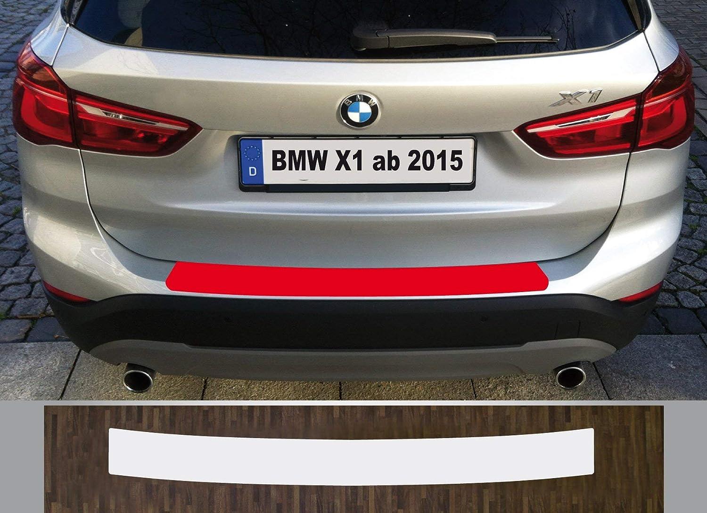 is-tuning passgenau f/ür BMW X1 ab 2015 Lackschutzfolie Ladekantenschutz transparent