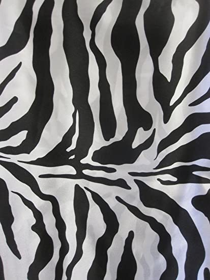 Image of: Stencil Image Unavailable Amazoncom Amazoncom Animal Print Satin Fabric Zebra 60