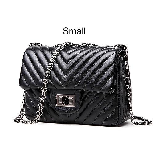 Amazon.com: Bolsas pequeñas de lujo para mujer, con ...