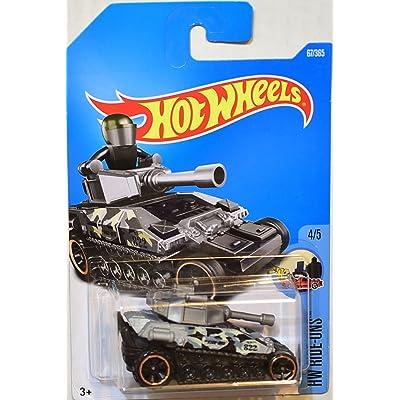 2020 Hot Wheels Hw Ride-Ons 4/5: Tanknator [Silver/Black]: Toys & Games