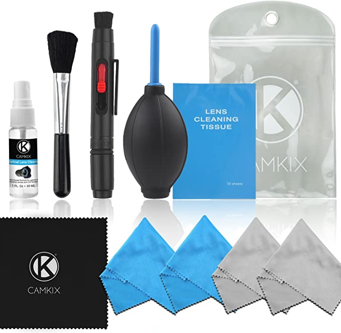 CAMKIX Cleaning Kit - Pack de Limpieza de Equipos fotográficos ...