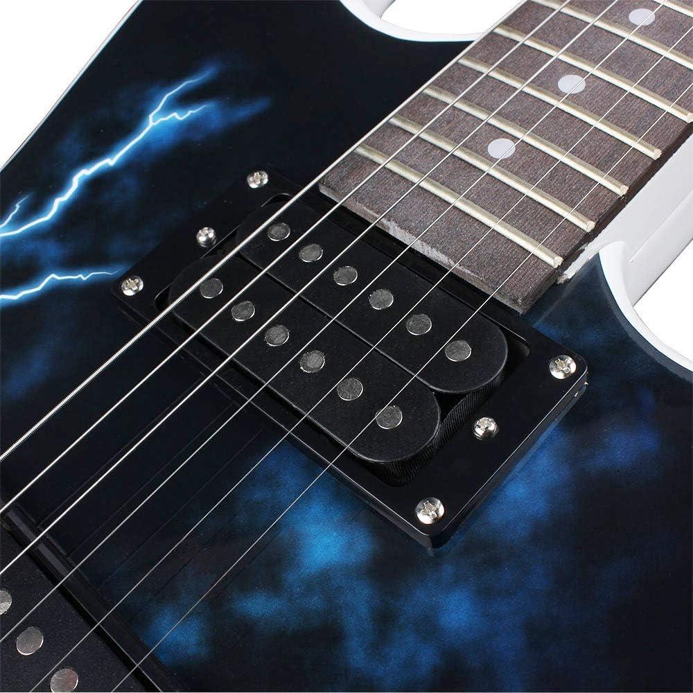 .010-.046 n/úcleo de acero y aleaci/ón de n/íquel Juego de 6 cuerdas para guitarra el/éctrica E101