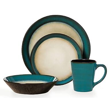 Pfaltzgraff Everyday Aria 16-Piece Dinnerware Set, Service for 4