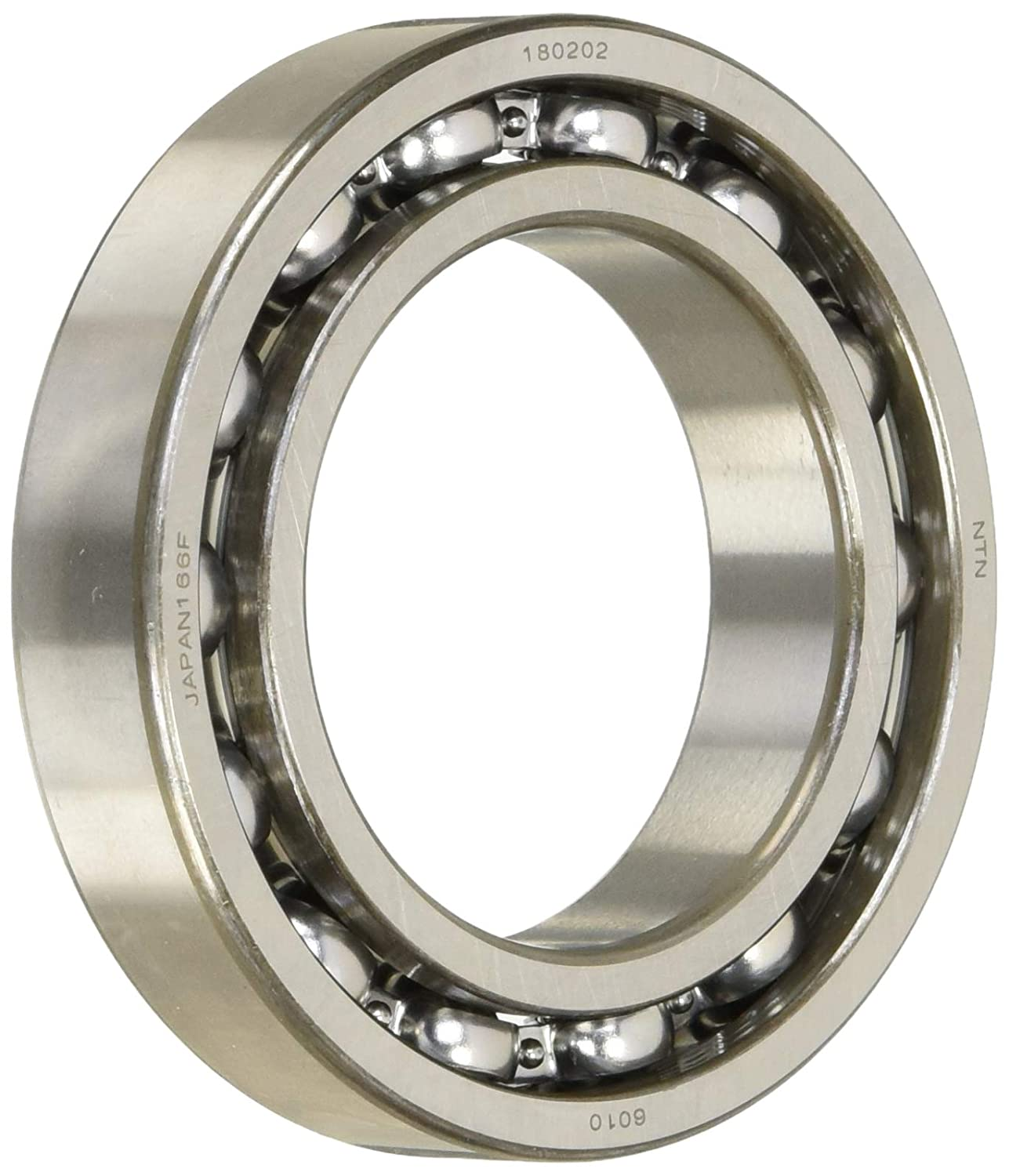 6010LU Radial Ball Bearing Double Sealed Bore Dia 50mm OD 80mm Width 16mm