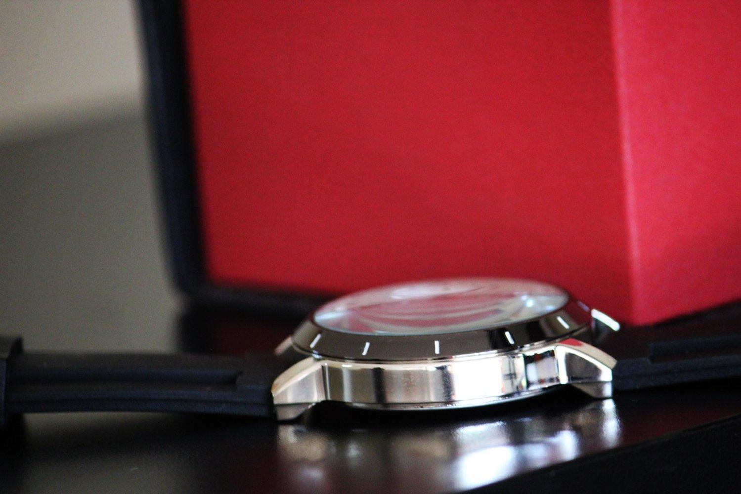 Hot New Custom Steering Honda Insight Concept Sport Wristwatch Sport Big Face Rubber Band