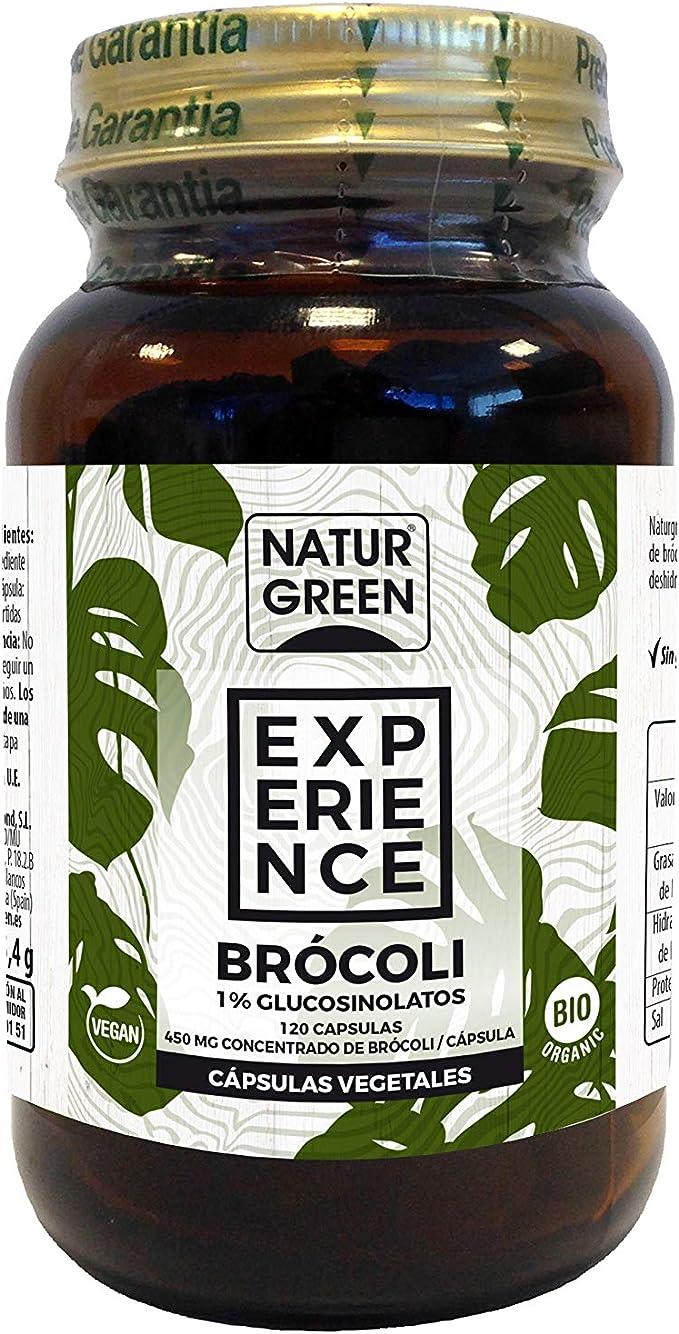 NaturGreen Brocoli Superalimento Bio en Cápsulas - 150 gr