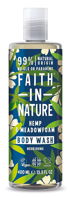 Faith In Nature Hemp & Meadowfoam Body Wash 1 x 400ml