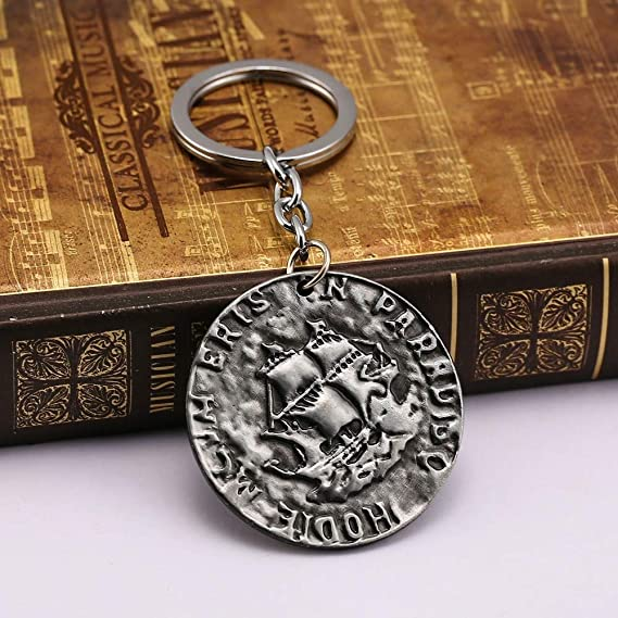 Value-Smart-Toys - Uncharted 4 A Thiefs End Coin keychain ...