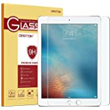 OMOTON iPad Pro 9.7 Screen Protector [Apple Pencil Compatible-Tempered Glass] with [9H Hardness] [2.5D Round Edge] [Scratch Resist] [Crystal Clear] for Apple iPad Pro 9.7