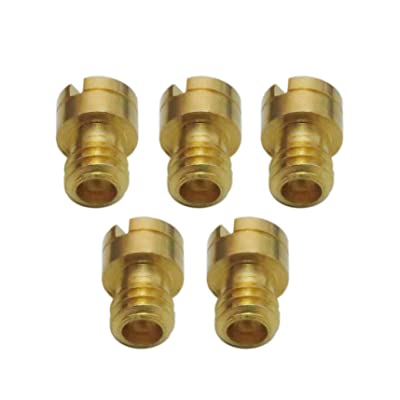 4mm Round Main Jet For GY6 50 80cc 139QMB ATV SCOOTER MOPED 78 80 85 90 95: Automotive