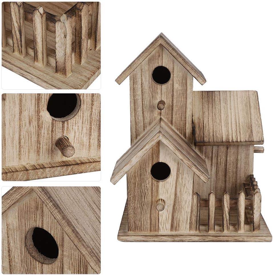pour Les Hirondelles doiseaux Meiyya Nichoir /à Oiseaux Robuste et Durable fournir des abris Bo/îte de Nidification pour Oiseaux Non Toxique