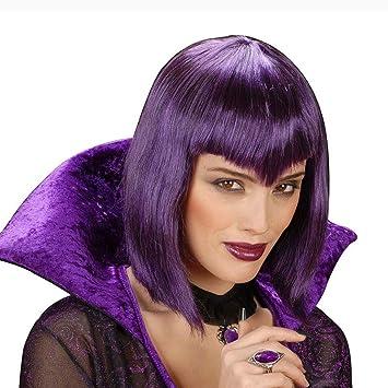 Peluca de la peluca para mujer con diseño de dinamita de carnaval de Halloween de colour