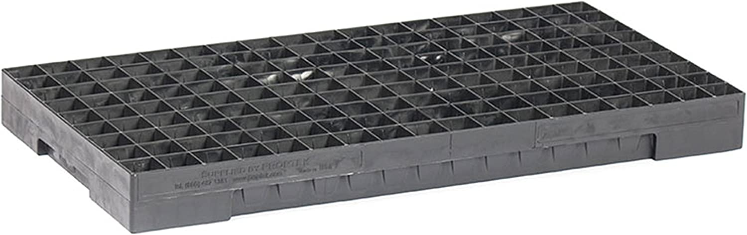 Heavy-Duty Seed Starting Trays 5 pack 162 Cell Trays Built to Last a Lifetime