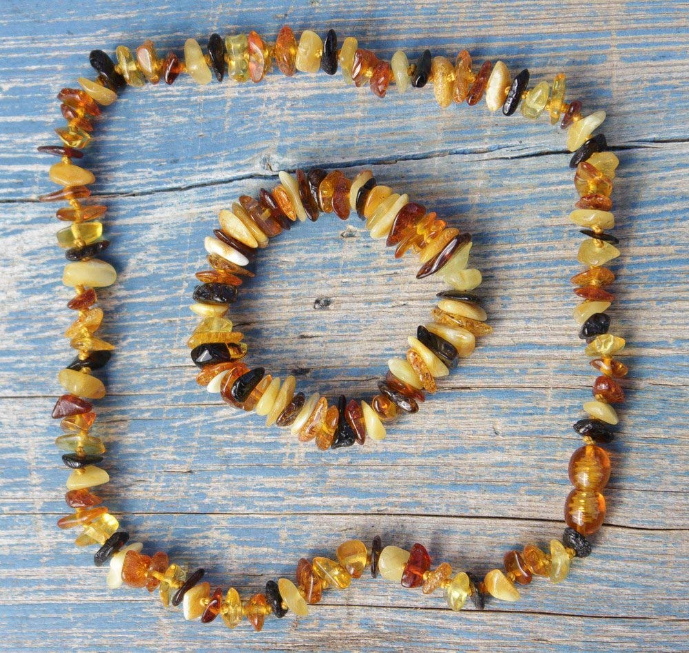 Authentic Baltic Amber Set for Baby