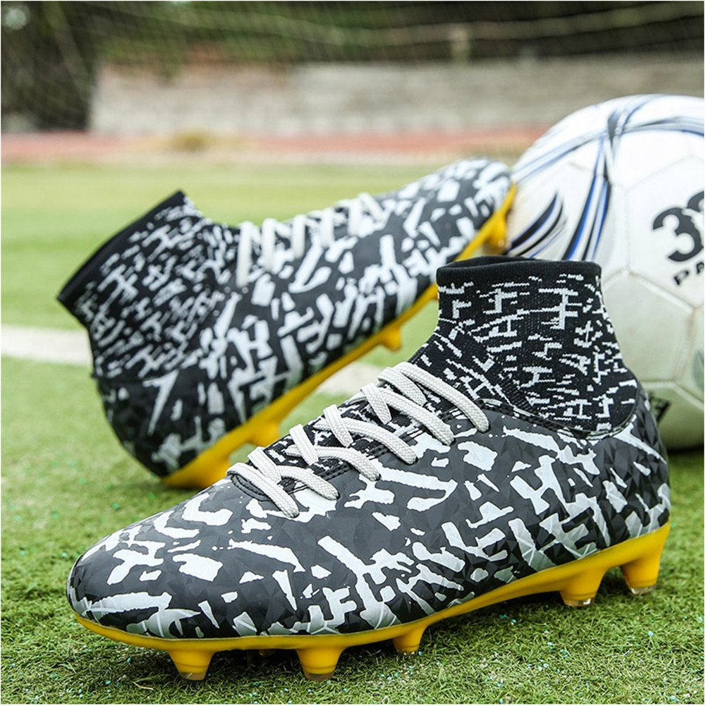 Leader Show Mens Athletic Football Shoes Fashion Soccer Cleat