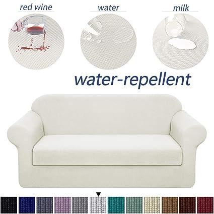 Amazon.com: Granbest - Funda para sofá de 2 piezas de tela ...