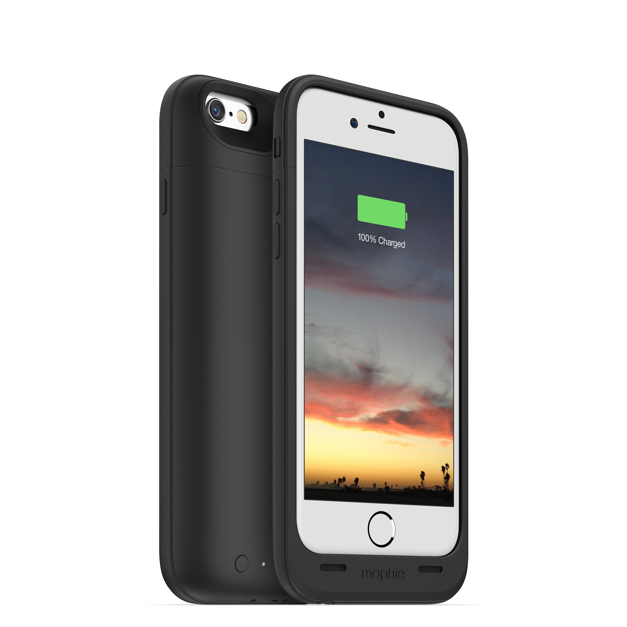 mophie juice pack air - Slim Protective Mobile Battery Pack Case for iPhone 6/6s - Black by mophie (Image #8)