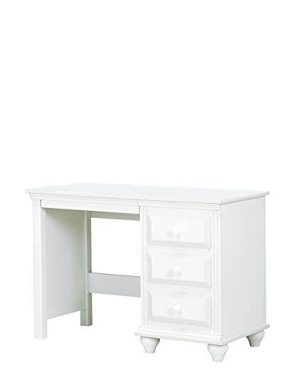 amazon com lang furniture madison 4 drawer desk with pencil tray rh amazon com white desk with drawers for makeup white desk drawers target