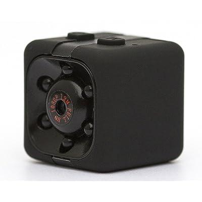 Camera Espion, Caméra Cachée 1080P HD Mini Camera Spy, Caméra de Surveillance Sans Fil Avec Infrarouge de Vision Nocturne, Détection de Mouvement pour Caméra de Surveillance de Sécuri