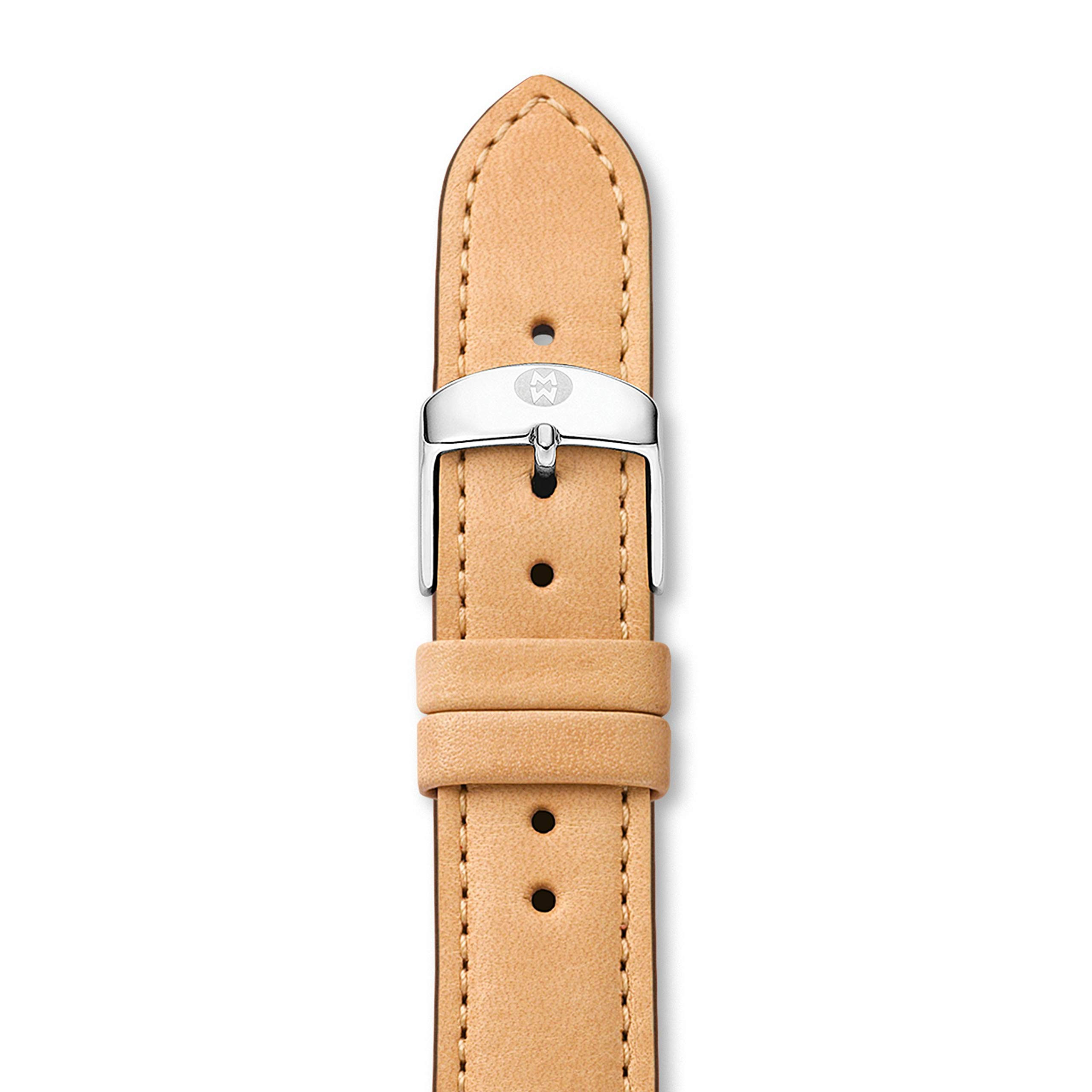 MICHELE MS16AA270231 16mm Leather Calfskin Brown Watch Strap