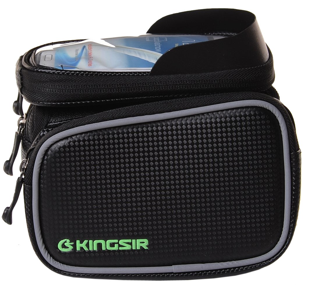 4Ucycling Kingsir Multicolor Outdoor Bike Front Tube Cell Phone Bag With Touc.. 14