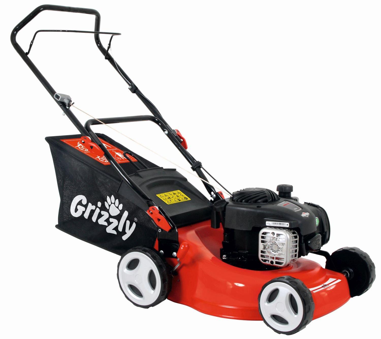 Benzin Rasenmäher Grizzly BRM 24-125 BS 300 Series 1,82 kW: Amazon ...