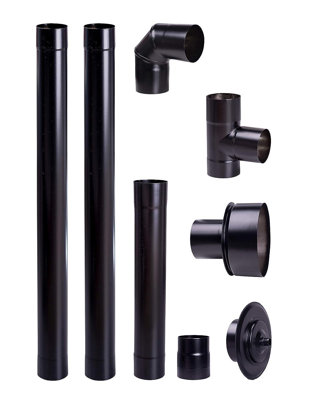 sourcing map 2Pcs Copper Round Tube Pipe 6mm Outside Diameter X 5mm Inside Diameter 500mm Long