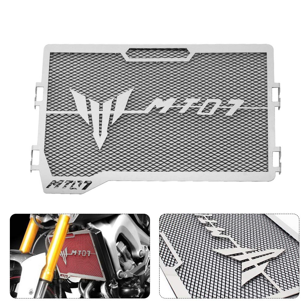 Grille de radiateur de moto Grille de protection Grille de protection pour Yamaha MT07 MT-07 MT 07 2014-2017 BXMoto Yamaha MT07 2014-2017