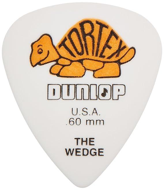 Dunlop 424 Púas TORTEX WEDGE Players verdes 0.88 mm: Amazon.es: Instrumentos musicales