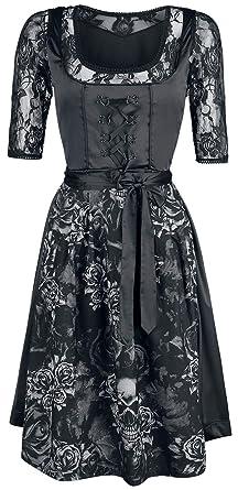 Black Premium by EMP Hedi s Dirndl Mittellanges Kleid schwarz ... 43ccbf174d