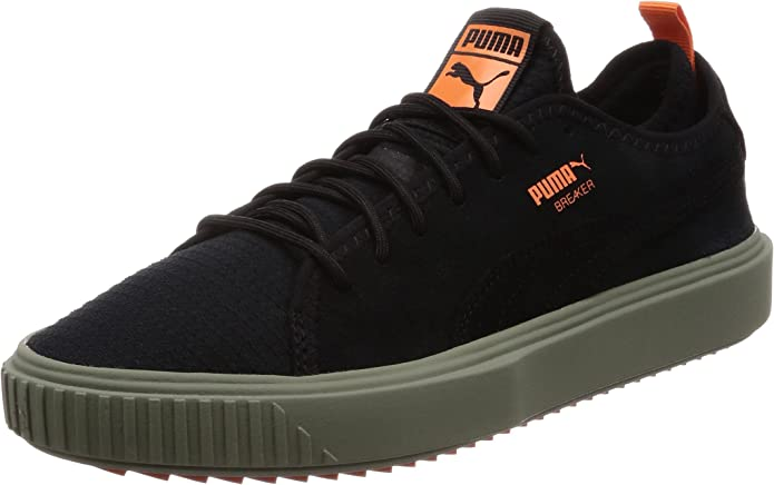 Puma Men's Low-Top Sneakers Green Size