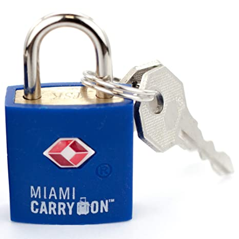 cd3509b2c1de Amazon.in: Buy Naftali TSA 1 Lock 2 Keys Blue Online at Low Prices ...
