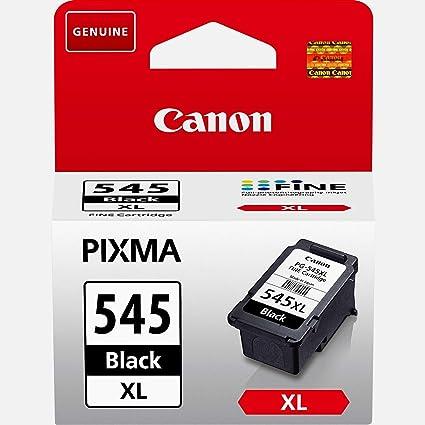 Canon PG-545XL Cartucho de tinta original Negro XL para Impresora de Inyeccion de tinta Pixma TS3150-TS3151-MX495-MG2450-MG2550-MG2550S-MG2555S-MG2950...