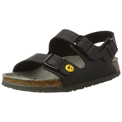 Birkenstock womens Milano ESD from Birko-Flor Back Strap | Sandals